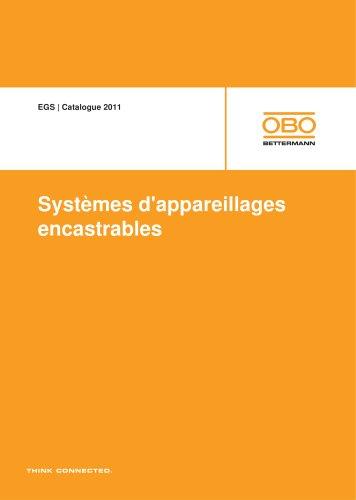 EGS Systèmes d'appareillages encastrables