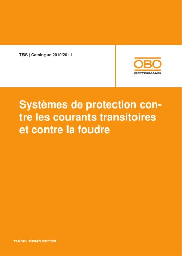 TBS Systèmes de protection contre les courants transitoires et contre la foudre