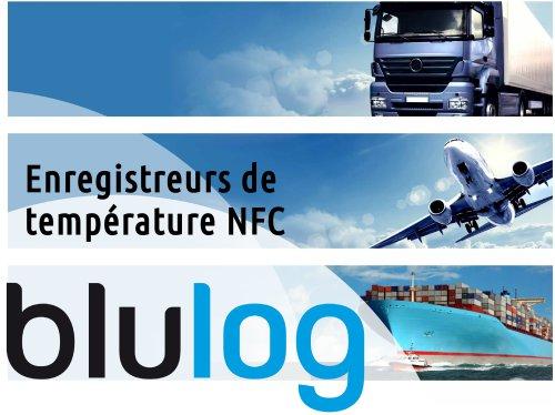 Brochure enregistreurs de température NFC agroalimentaire