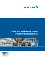 Press line and blanking systems with ServoDirect Technology