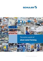The entire world of sheet metal forming