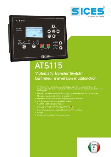 ATS115 - Contrôleur d'inversion multifonction