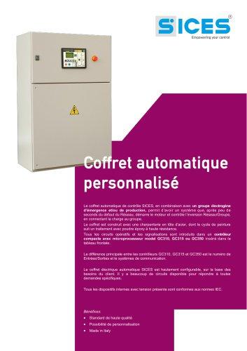 Coffret automatique personnalisé