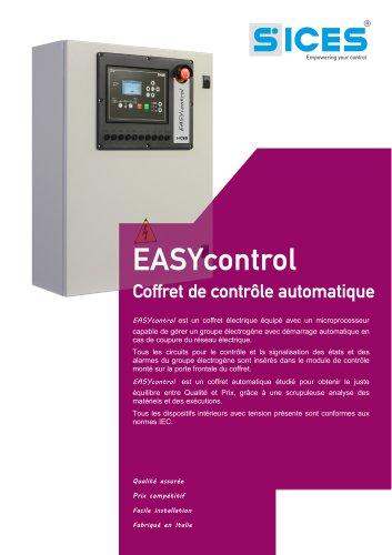 EASYCONTROL - Coffret automatique pour GE Normal/Secours