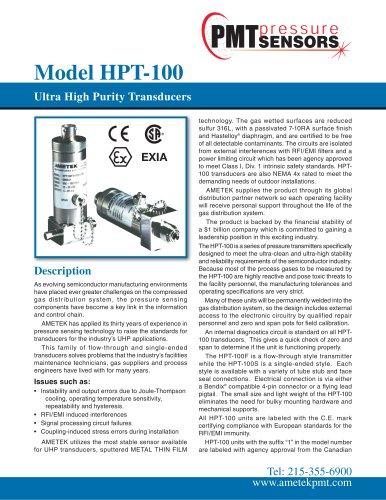 Model-HPT-100