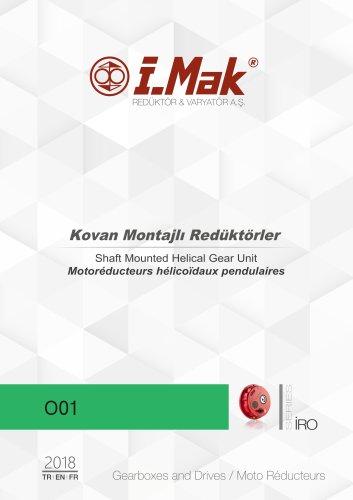 Moto Réducteurs hélicoïdaux pendulaires - Série IRN