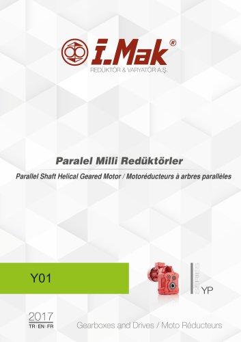 Motoréducteur à arbres paralléles - Série YP
