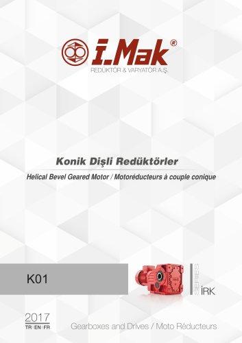 Motoréducteurs à couple conique - IRK
