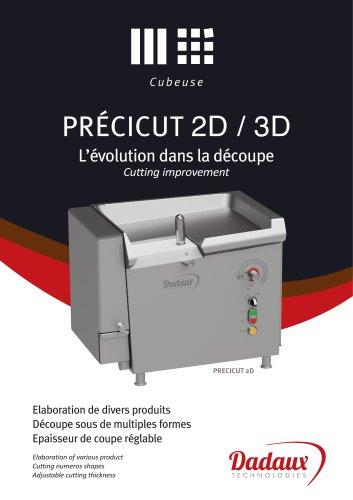 PRÉCICUT 2D / 3D