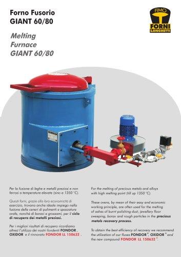 Melting furnace GIANT 60/80