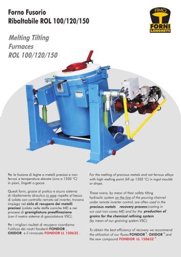 Melting furnace ROL 100/120/150