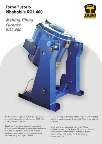 Melting tilting furnace ROL 400