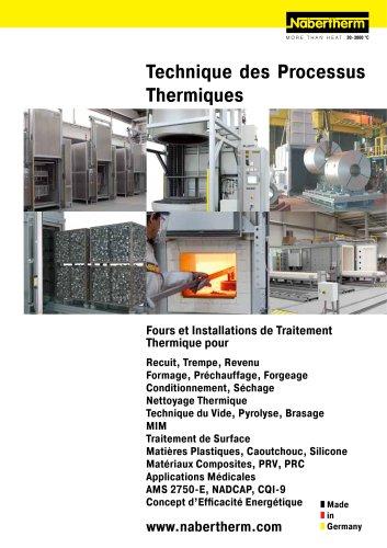 Technique des Processus Thermiques I