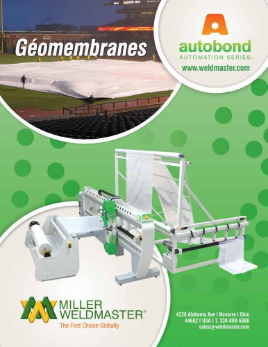Geomembranes - Automation