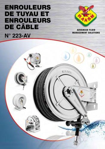 Catalogue enrouleurs de tuyau et enrouleurs de câble