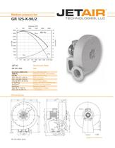 JET-Radial Blower GR-125