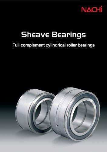 Nachi Sheave Bearings Catalog