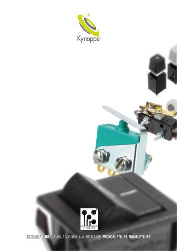 Kynoppe - boutons et interrupteurs pour C.I.