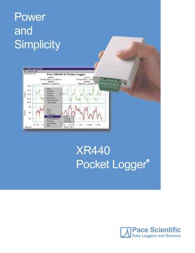 XR440 Pocket Data Logger