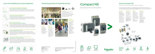 Compact NS |Disjoncteurs BT de 16 à 3200 A