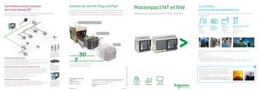 Masterpact NT et NW Disjoncteurs de puissance BT 630 à 6300 A