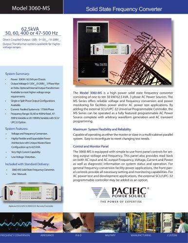 MS Series Product Brochure