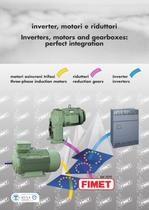 Inverters, motors and gearboxes: perfect integration