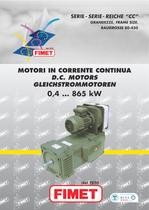 large DC motor CC series