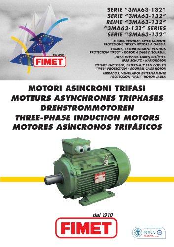 moteur asynchrone triphasé à cadre aluminium 3MA series