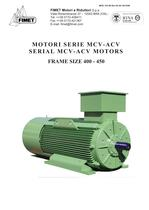 SERIAL MCV-ACV MOTORS