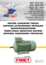 THREE-PHASE INDUCTION MOTORS SERIE M225-400