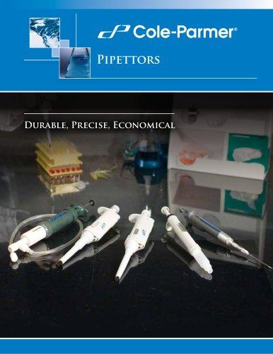 Cole-Parmer® pipettors