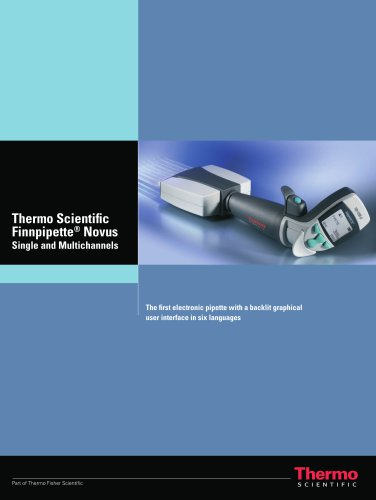 Thermo Scientific finnpipette® novus brochure
