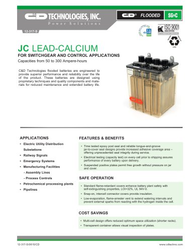 JC LEAD-CALCIUM