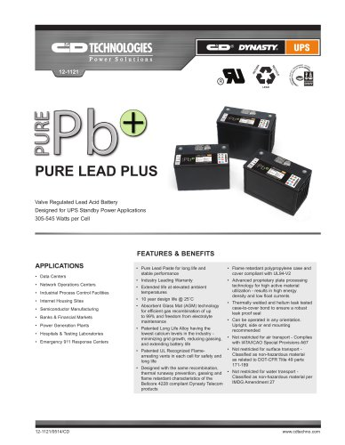Pure Lead Plus Series