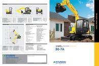 MINI EXCAVATOR  R80-7A