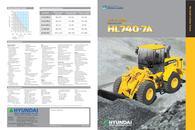 Wheel Loaders  HL740-7A