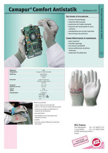 Camapur® Comfort Antistatik 625
