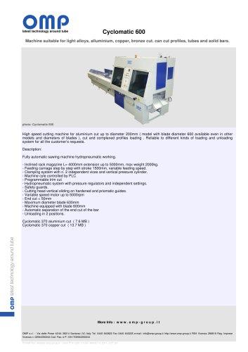 Cyclomatic 600