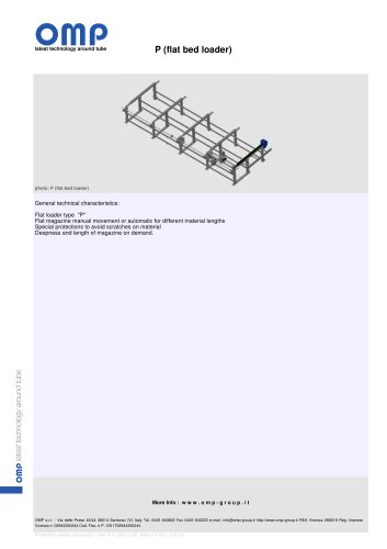 P (flat bed loader)