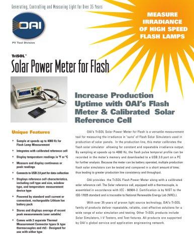 TriSOLSolar Power Meter for Flash