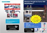 Maquina Portátil de corte cnc steeltailor,