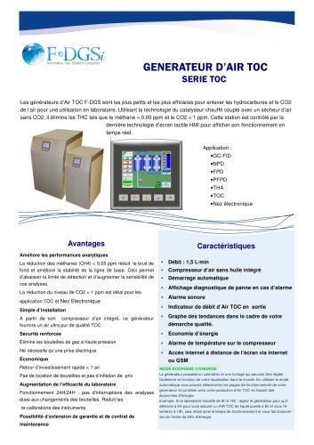 Générateur d'air TOC
