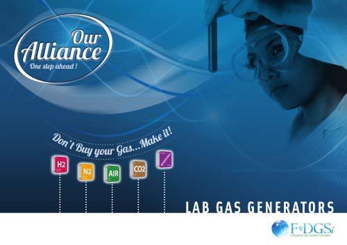 Lab gas generators