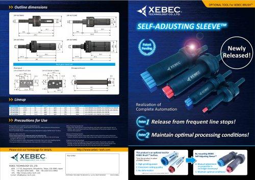 XEBEC Self Adjusting Sleeve™