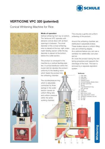 VERTICONE VPC 320 (patented)