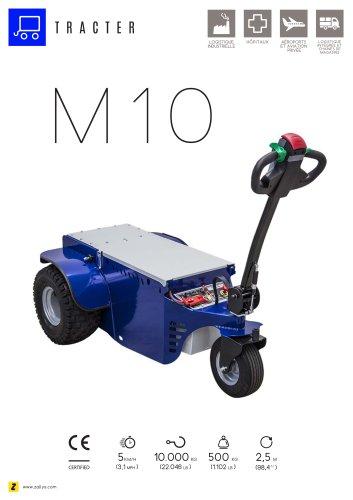 M10 Tracteur pousseur électrique