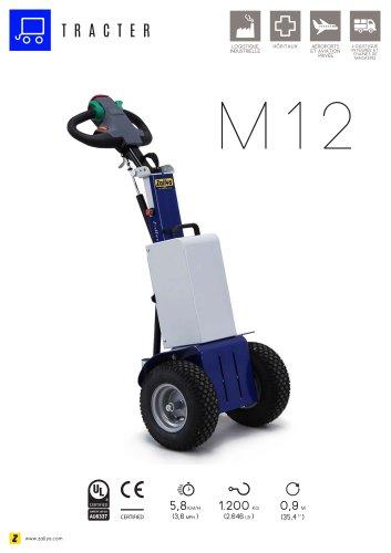 M12 Tracteur pousseur électrique