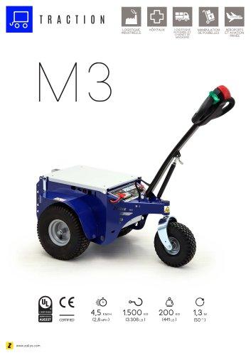 M3 tracteur électrique accompagnant