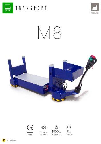 M8 transporteur électrique de matériels encombrants
